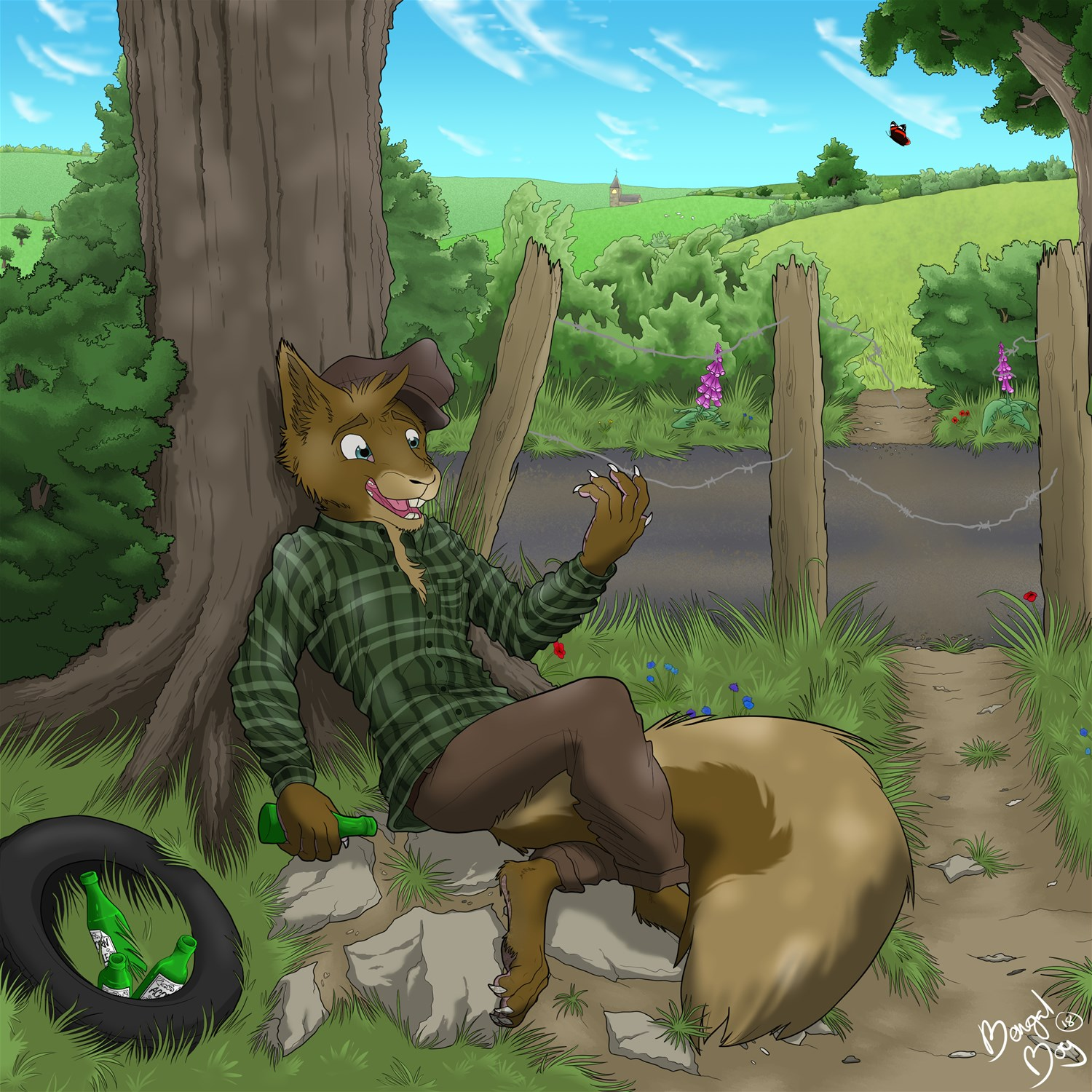 YCH Charity Auction: Acorn Ale by BengalBoy