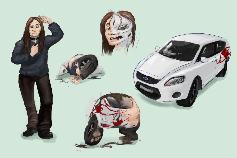 Car Transformation Game